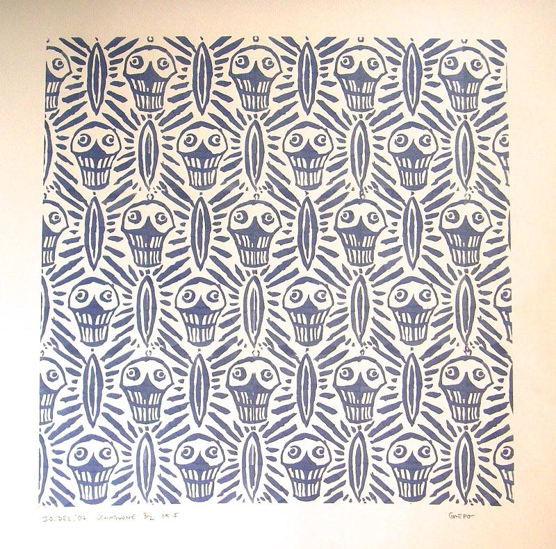 Schablone - Textur 4