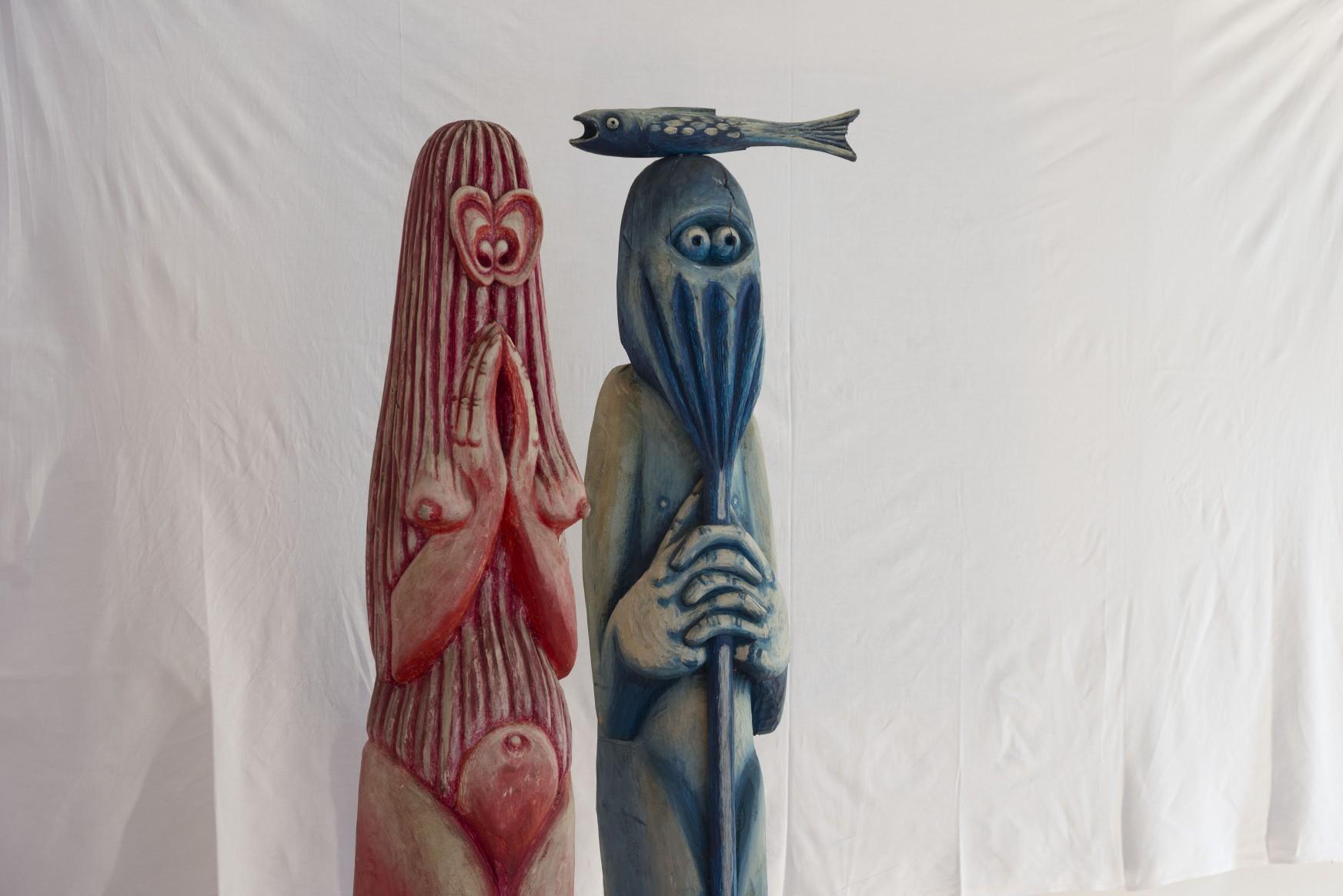 "Diptichon ""Magdalena & Petrus"""
