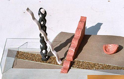 Schreitender - 2005 / Modell für Klaus Michor